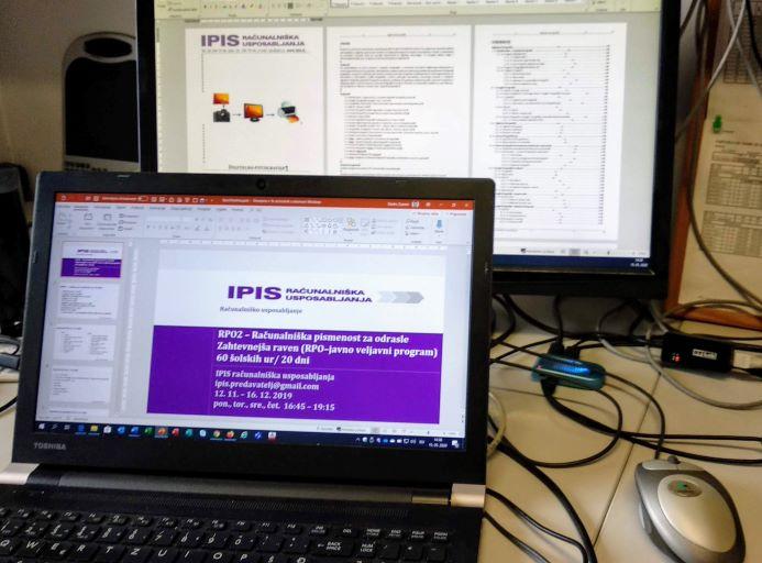 IPIS Računalniška usposabljanja